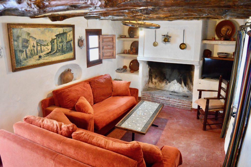 Aprisco salón  - Cortijo Pulgarín Bajo - Turismo Rural - Málaga - Andalucía
