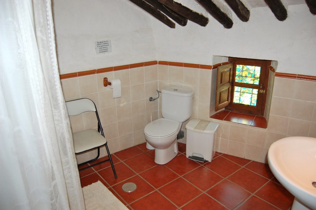 Cortijo cuarto de baño